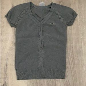 Knit lacoste top
